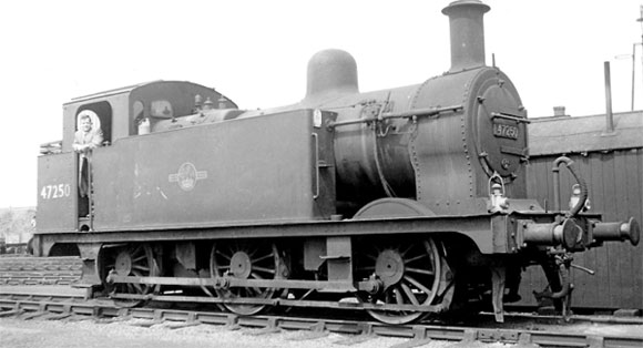 No. 47250 was sold from Burton shed to Machema Ltd, Port Talbot, on October 21, 1965.