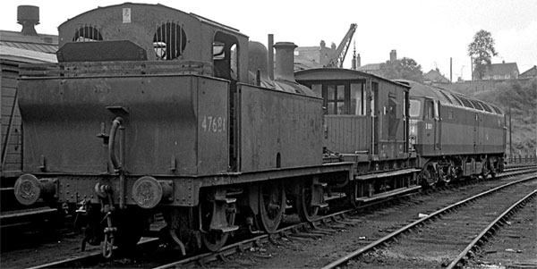 The disposal of ex-LMS 0-6-0T No. 47681
